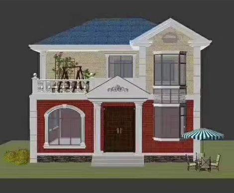Effect drawing of light steel villa